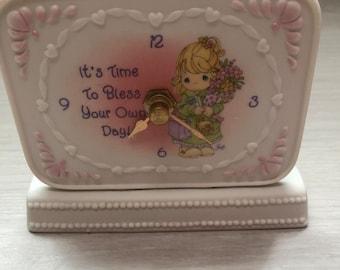 Precious Moment Decoration Clock