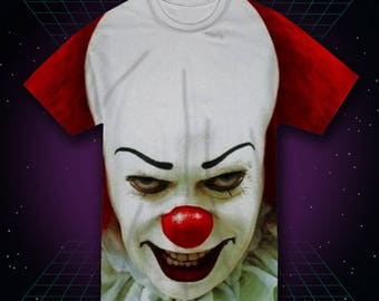 Scary Clown Shirt Etsy