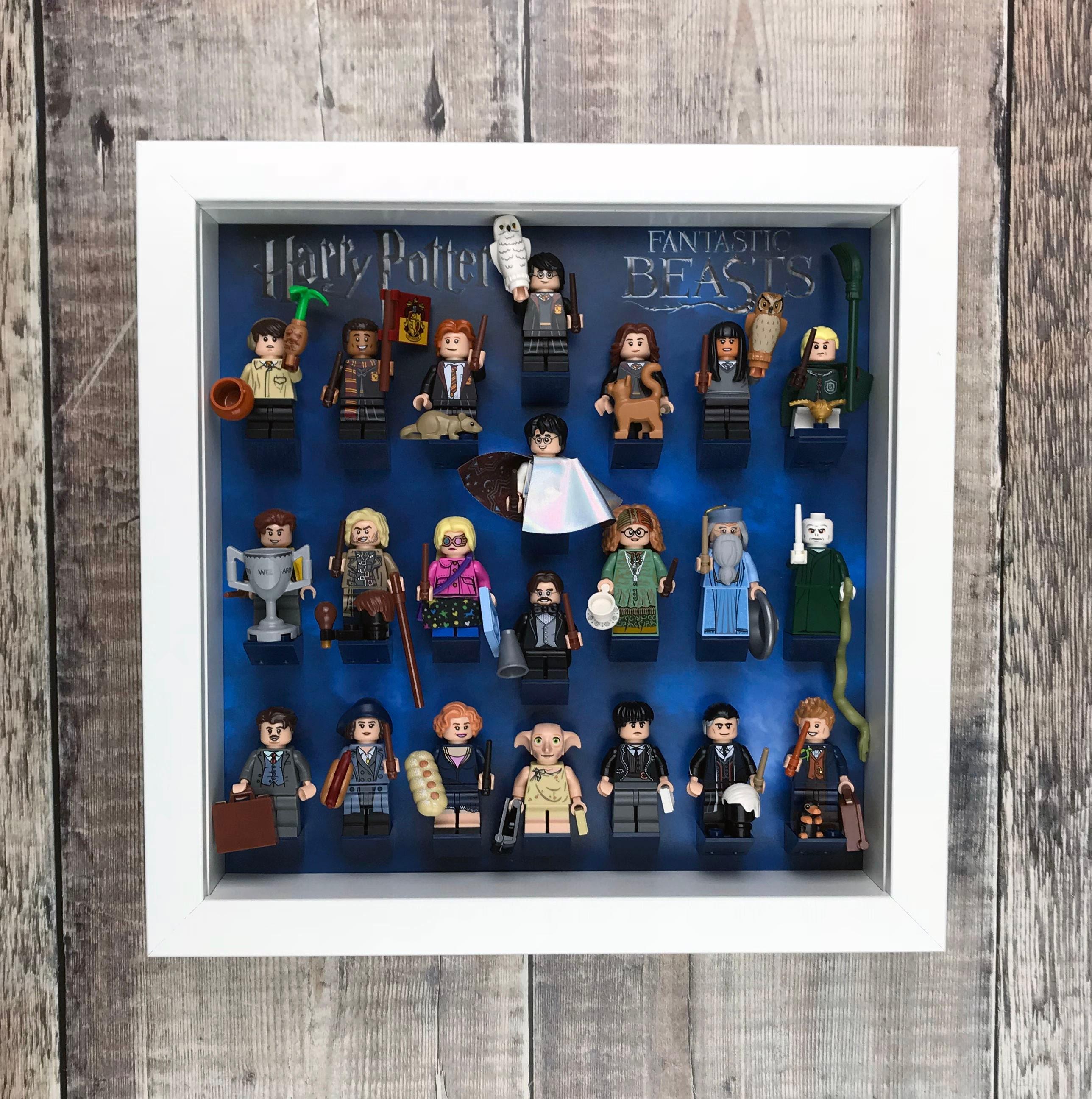 Displayrahmen für Harry Potter Minifiguren Fall für LEGO | Etsy
