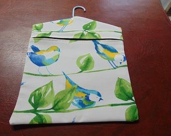 Clothespin Bag Birds