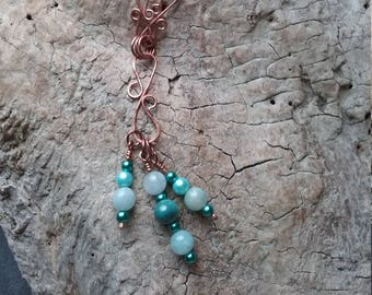 Necklaces, Copper, handmade,