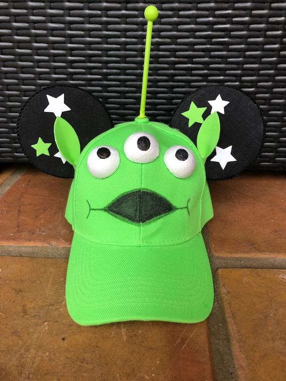 17ae763f4 Handmade Mouse Ears Baseball Cap - Toy Story Little Alien