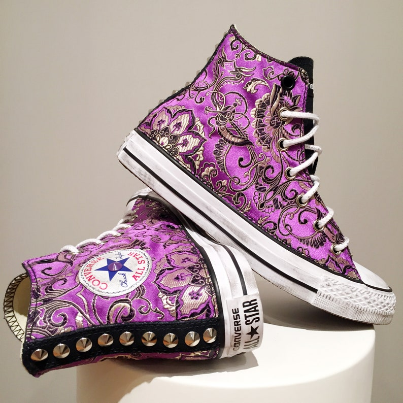 converse all star fiori