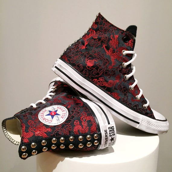 Converse Womens Chuck Taylor All Star Hi Textile Sequin Trainers