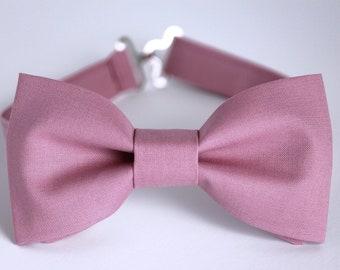 Mauve Bow Tie, dusty rose bow tie, groomsmen bow tie, wedding bow tie, boys bow ties, men's bow ties