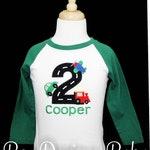 Transportation Birthday Shirt or Bodysuit, Planes, Trains and Automobile Birthday, Personalized Birthday Party Shirt, Custom, Any Age