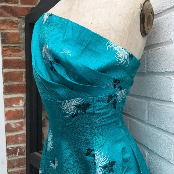 Vintage 50s chinese evening/party dress