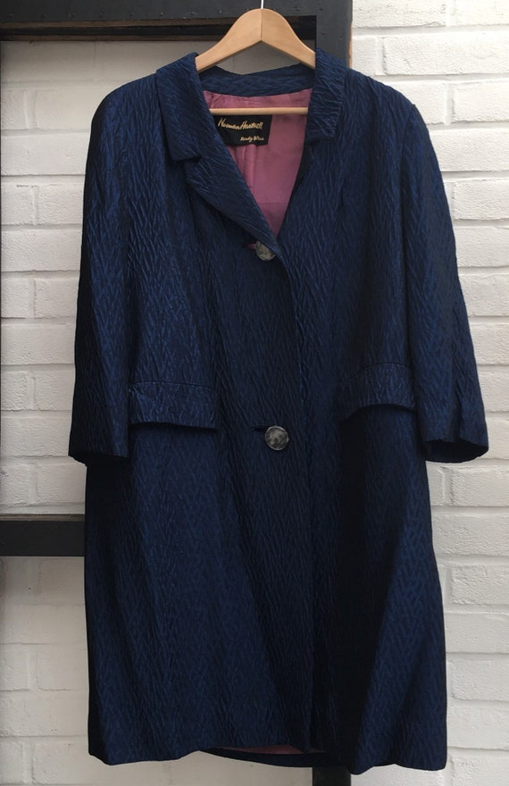 Vintage 50/60s Normal Hartnell coat - image 4