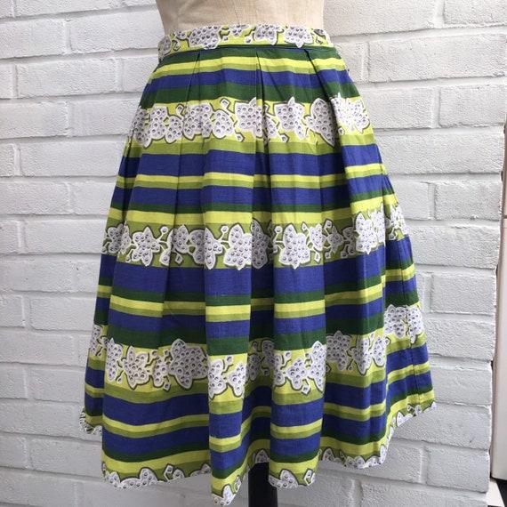 Vintage 50s novelty print skirt