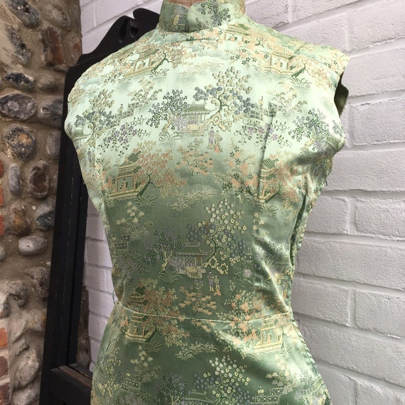 Vintage 50s chinese dress