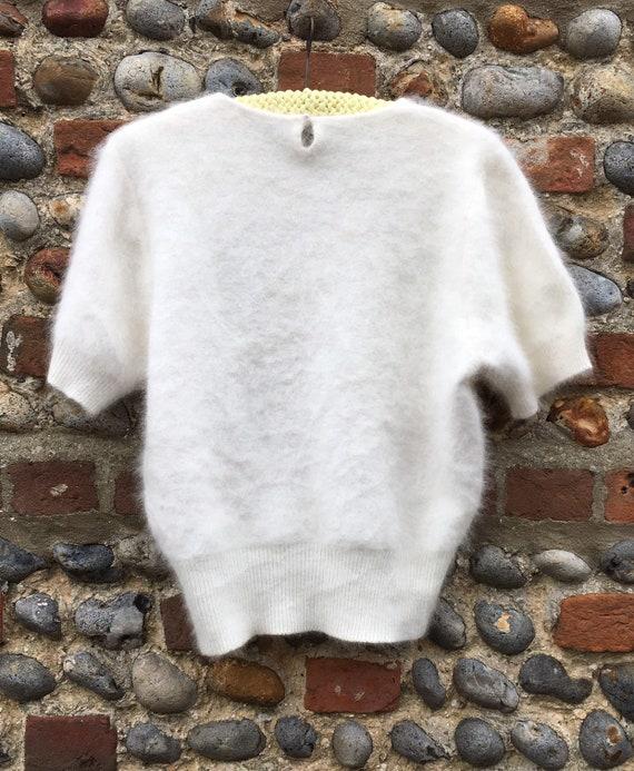 Vintage 80s puff sleeve jumper - image 8