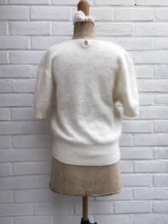 Vintage 80s puff sleeve jumper - image 3