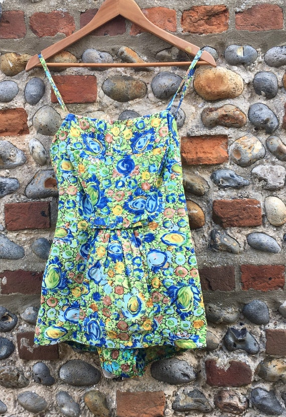 Vintage 50s webfoot swimsuit M