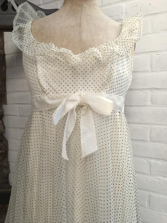 Vintage Jean Varon polka dot dress