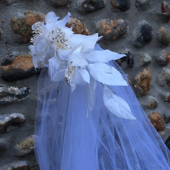 Vintage 50s wedding veil - image 1