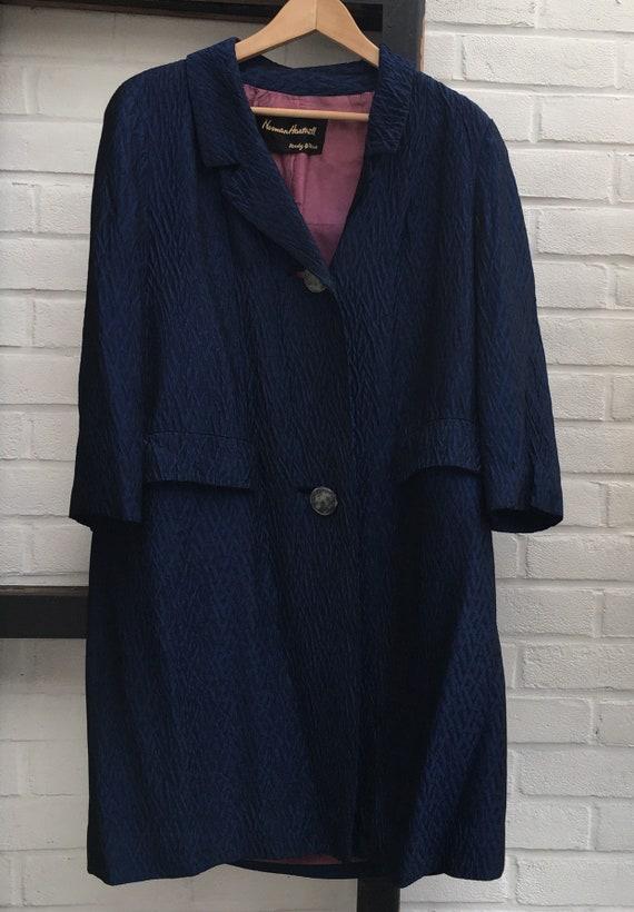 Vintage 50/60s Normal Hartnell coat - image 9