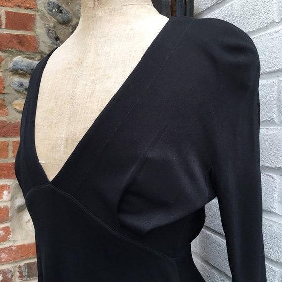 Vintage Jean Muir lbd dress