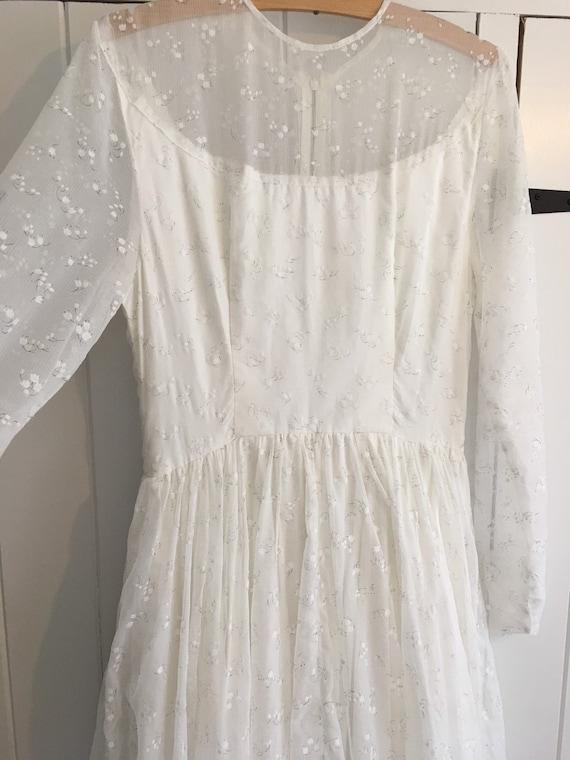 Vintage 50s/60s wedding dress