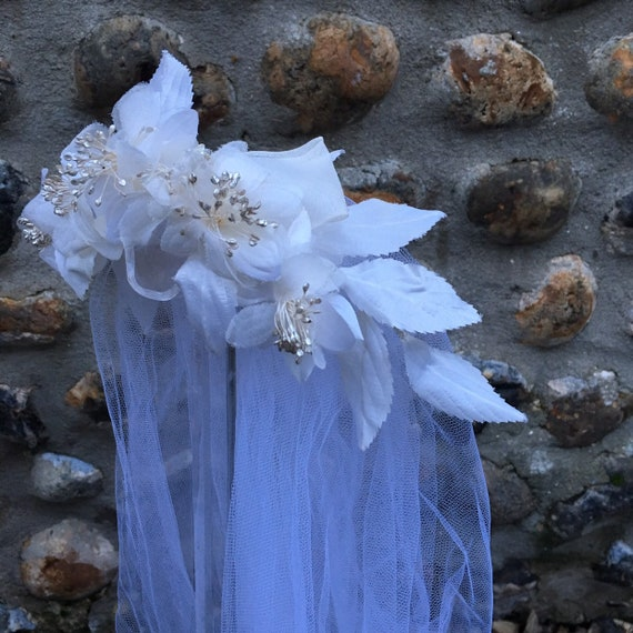 Vintage 50s wedding veil - image 3