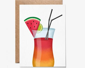 Blank Card - Happy Birthday - Greeting Card - Birthday Card - Stationery - Folio - thisisfolio