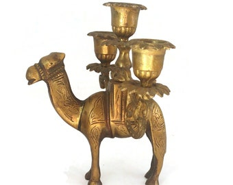 Sheep Camel Ensenco Nativity Pillar Candle Holder Joseph Mary