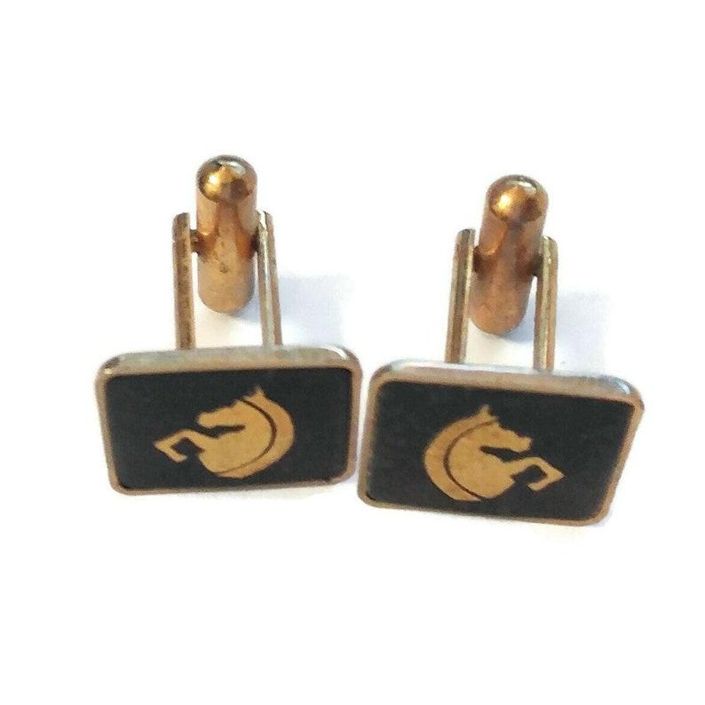 Vintage   Men/'s Cuff links /& Tie Clip  gold tone  Cuff links,Cuff links and Agate stone Tie Clip Men/'s Accessories Men/'s Gift