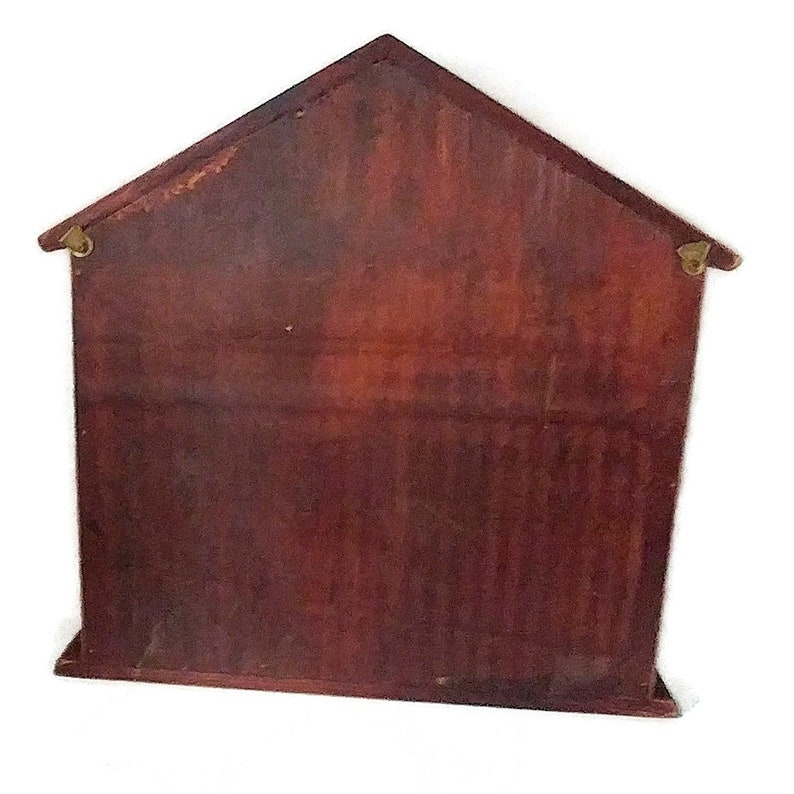 Handmade large vintage Chinese Wooden jewelry Box