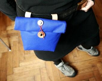 Handlebar Bag / Canvas Saddle Bag / Tool Bag /  Cross Body Bag /  Bum Bag /  Fanny Bag /  Womens Saddle Bag /  Mens Saddle Bag / PRIVATE