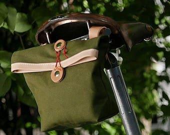 Canvas Saddle Bag / Handlebar Bag / Tool Bag / Cross Body Bag / Bum Bag / Fanny Bag / Womens Saddle Bag / Mens Saddle Bag / Private