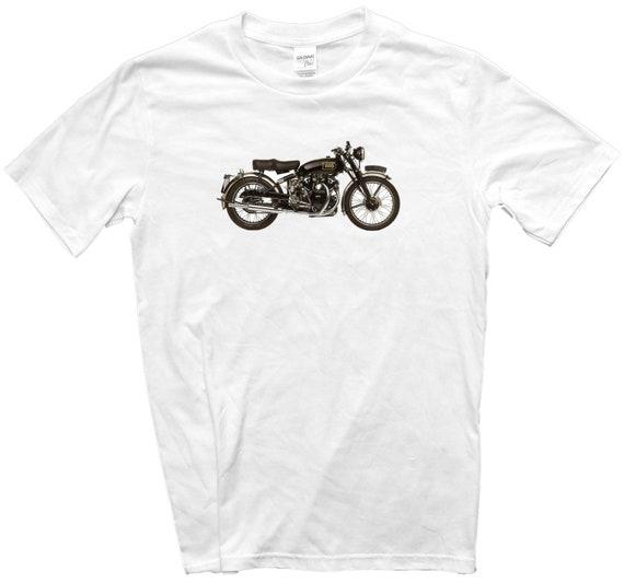 Classic Bike Gift 12 Sizes Vincent Black Shadow 1949 Motorcycle Biker T-Shirt