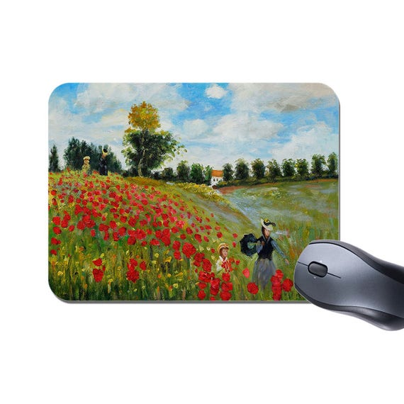 Claude Monet Poppy Bolso De Compras Bolso para la vida Field