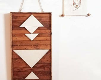Reclaimed Cedar Boho Chic Wall Decor