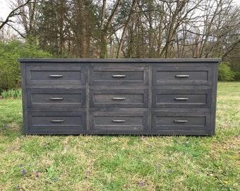 9-Drawer Dresser Console