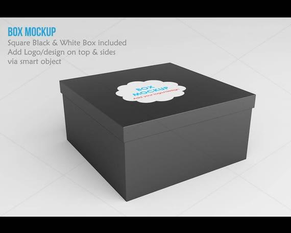 Free Product Box Mockup Square Box Mockup 3d Box Mockup Psd