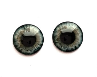 SET 9 Jecci Five Icy Eye chips 14mm 13,5mm Custom Eyechips Neo Blythe