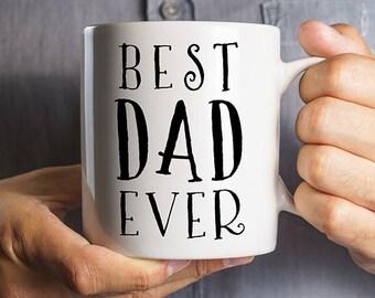 Best Dad Ever Mug, Gift for Dad, Mug for Dad, Gifts for Father, Gifts for Him, Dad Mug, Cool Mug for Dad, Cool Dad Gift, Super Dad