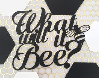 What Will It Bee | Gender Reveal| Bee Cake Topper