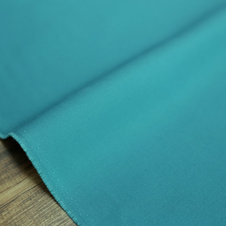 Teal 20 #11 Canvas Fat Quarter Japanese Fabric Sevenberry Solid Color