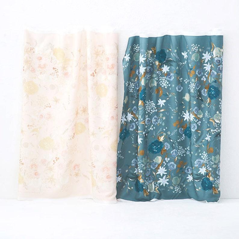 50cm Nani Iro Japanese Fabric Kokka Fuccra Rexcell Pink