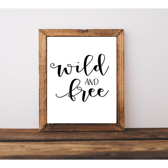 graphic relating to Free Quote Printable called Wild and No cost Printable Rates Printable Quotation Printable Wall Artwork Nursery Artwork Small children area nursery childrens place children house decor residence decor