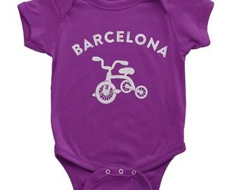 4da6cc1b22e NYC FACTORY Bike Baby Bodysuit Barcelona Velo Collection