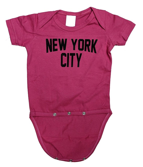 Nyc Factory New York City Baby Bodysuit Screen Printed Soft Etsy