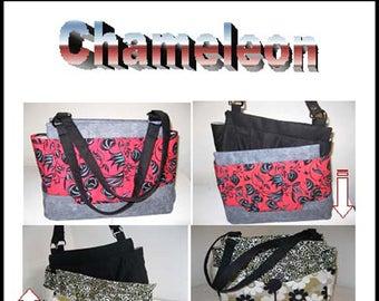 Chameleon bag/purse sewing Pattern