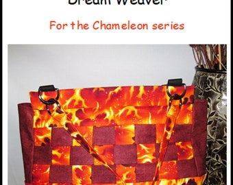 Pattern for additional cover for the Chameleon Bag.  Dream Weaver!