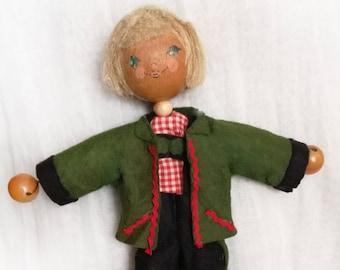 German traditional flexible doll