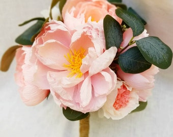 The Princess and the Peony Wedding Bouquet