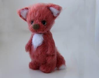 Fox Toy Crochet Fox toy Eco Toy Fox Toy Woodland animal Friend of the Little Prince Fox