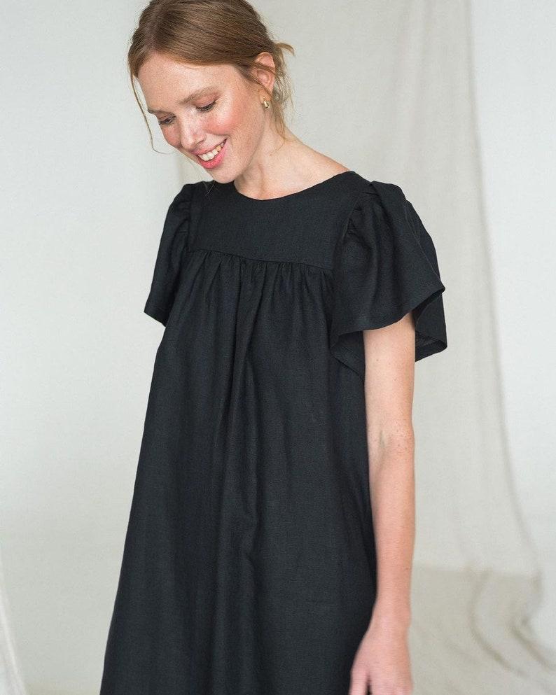 Plus size linen dress White linen dress,Linen dresses for women,Causal linen dress,Loose linen dress,Linen summer dress,Maxi linen dress