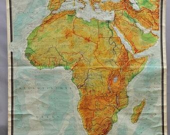 Old school map   Etsy