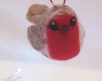 Little Christmas robin ornaments